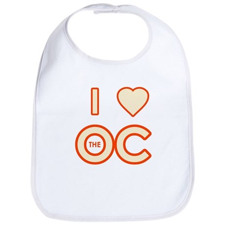 I Love the OC Bib