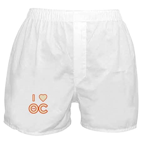 I Love the OC Boxer Shorts