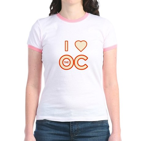 I Love the OC Jr Ringer T-Shirt