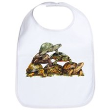 Turtle Pyramid Bib