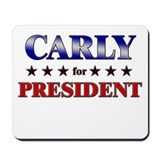 CARLY for president Mousepad
