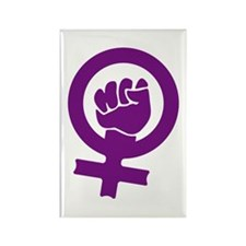 Feminist Power Rectangle Magnet