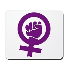 Feminist Power Mousepad