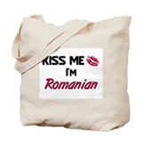 Kiss me I'm Romanian Tote Bag