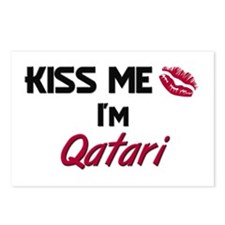 Kiss me I'm Qatari Postcards (Package of 8)
