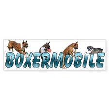 Boxermobile Bumper Bumper Sticker