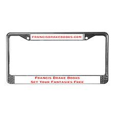 Francis Drake License Plate Frame