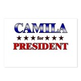 CAMILA for president Postcards (Package of 8)