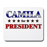 CAMILA for president Mousepad