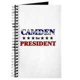 CAMDEN for president Journal