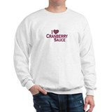 I Love Cranberry Sauce Sweatshirt