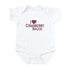 I Love Cranberry Sauce Infant Bodysuit