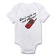 Don't Make Me Call Abuelo Baby Onesie