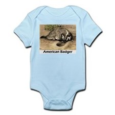 American Badger Infant Creeper
