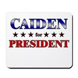 CAIDEN for president Mousepad