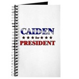 CAIDEN for president Journal