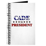 CADE for president Journal
