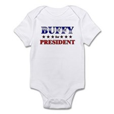 BUFFY for president Infant Bodysuit