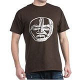 Tribal Mask Tee Dark Colors