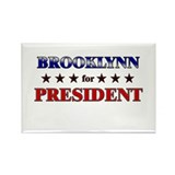 BROOKLYNN for president Rectangle Magnet