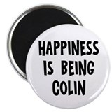 "Happiness is being Colin 2.25"" Magnet (10 pack)"