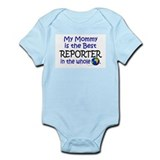 Best Reporter In The World (Mommy) Infant Bodysuit