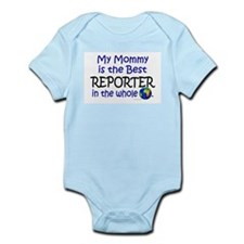 Best Reporter In The World (Mommy) Onesie