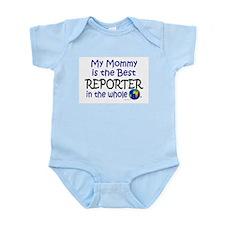 Best Reporter In The World (Mommy) Onesie