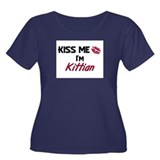 Kiss me I'm Kittian Women's Plus Size Scoop Neck D