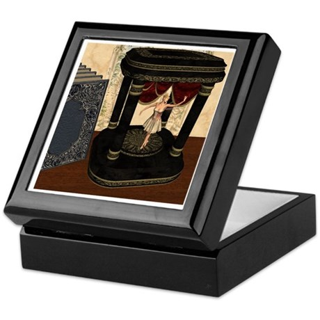 The Music Box Keepsake Box