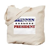 BRENNEN for president Tote Bag