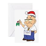 Kiss a Mason Greeting Cards (Pk of 10)