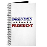 BRENDEN for president Journal