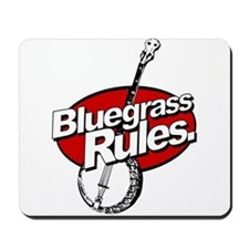 bluegrass rules Mousepad