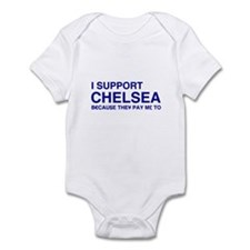 I Support Chelsea Infant Bodysuit