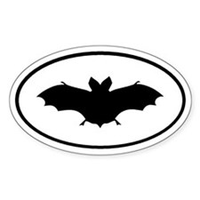 Bat Oval Decal