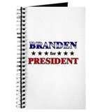 BRANDEN for president Journal