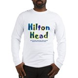 Hilton Head Type - Long Sleeve T-Shirt