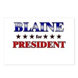 BLAINE for president Postcards (Package of 8)