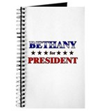 BETHANY for president Journal