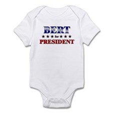 BERT for president Infant Bodysuit