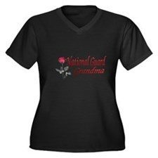 national guard grandma Women's Plus Size V-Neck Da