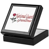 national guard grandma Keepsake Box