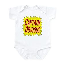 Captain Obvious Infant Bodysuit