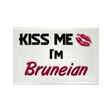 Kiss me I'm Bruneian Rectangle Magnet (10 pack)