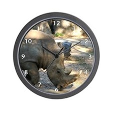 Rhino Wall Clock