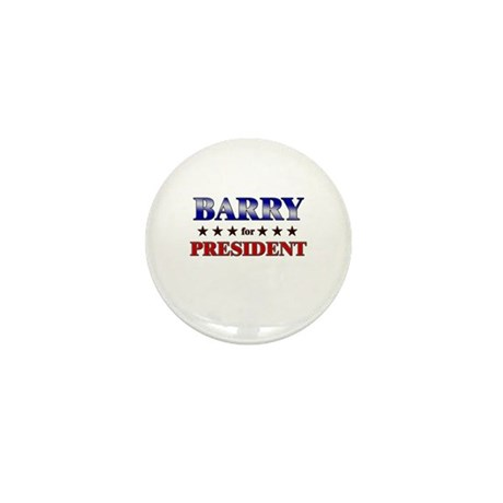 BARRY for president Mini Button (10 pack)