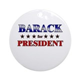 BARACK for president Ornament (Round)