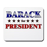 BARACK for president Mousepad