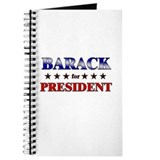 BARACK for president Journal